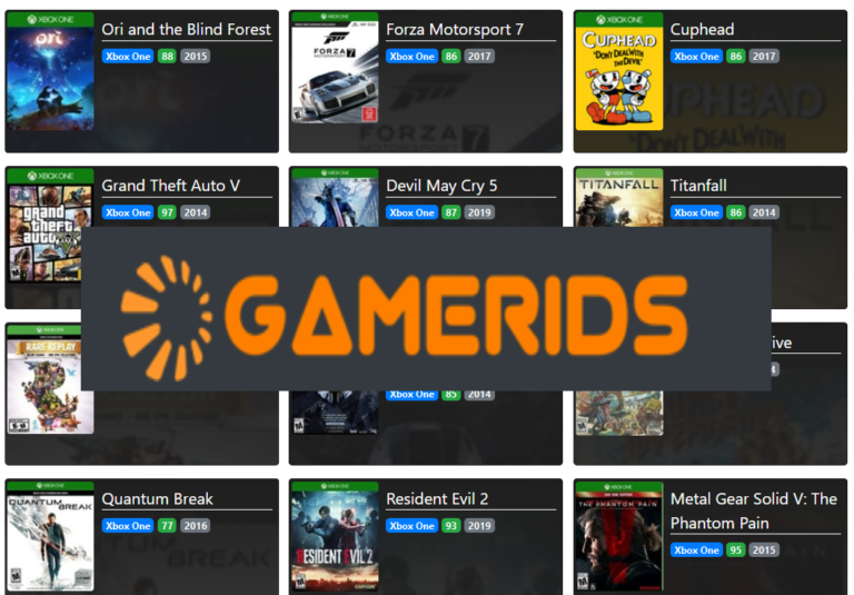 Review – GAMERIDS: A website for real gamer