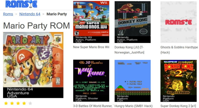 Games for free? – ROMs Review