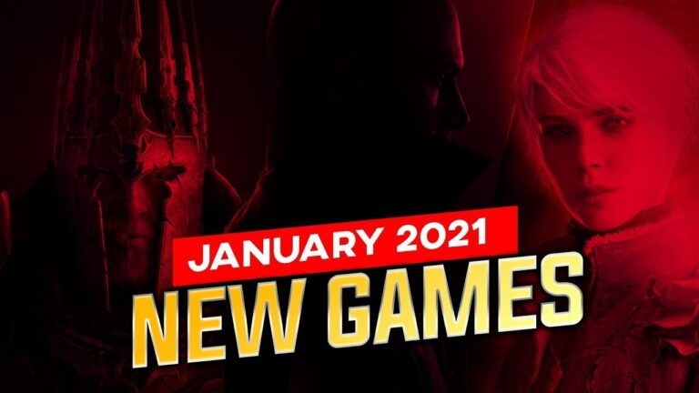 Top 7 NEW Games of January 2021//IN HINDI!!
