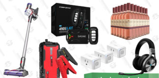 Compustar 2-Way Remote Start Kit, Dyson V7 Allergy, Gooloo Car Jump Starter, Kasa Smart Plugs, Corsair Virtuoso Headset, and More