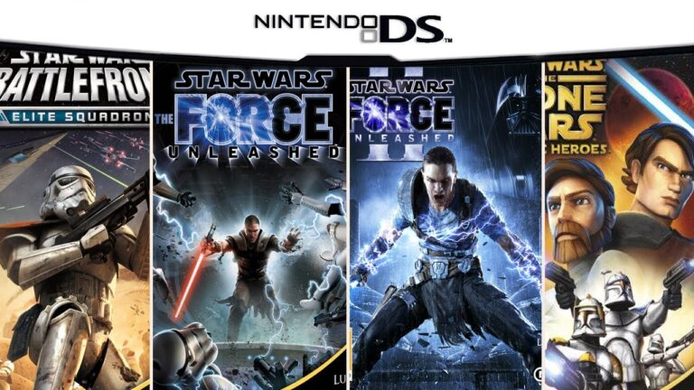All Star Wars Games on DS