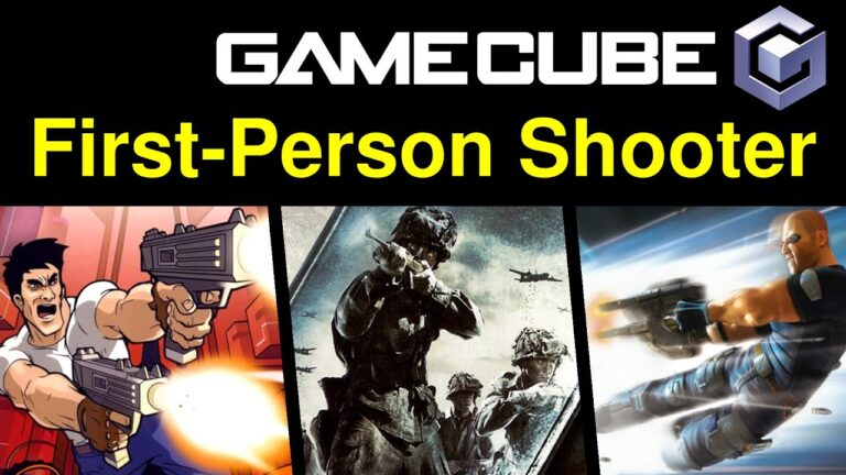 10 awesome GameCube – First-Person Shooter (FPS) games 🔫 … (Gameplay)