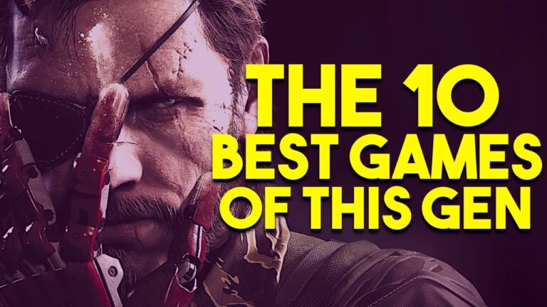 Top 10 Games on the PS4, Xbox One & Nintendo Switch Generation