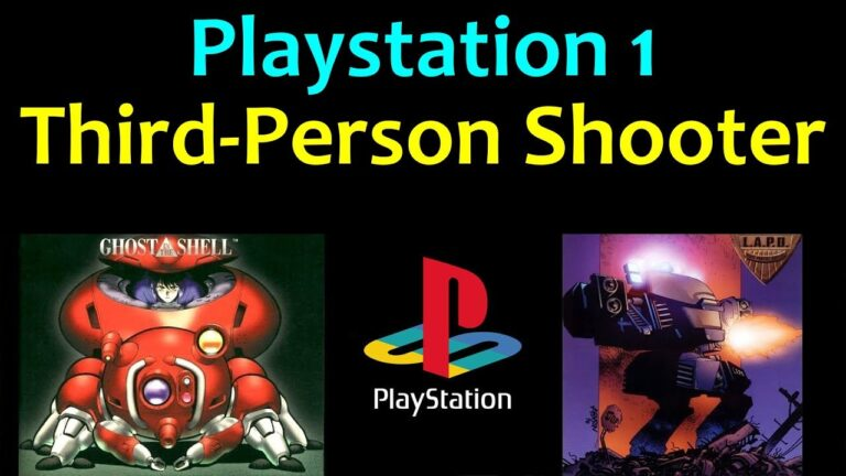 10 awesome PS1 Third-Person Shooter games 😍 Video 1 … (Gameplay)