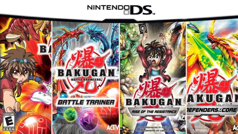 All Bakugan Games on DS