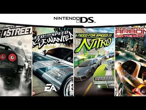 All Need For Speed Games on DS