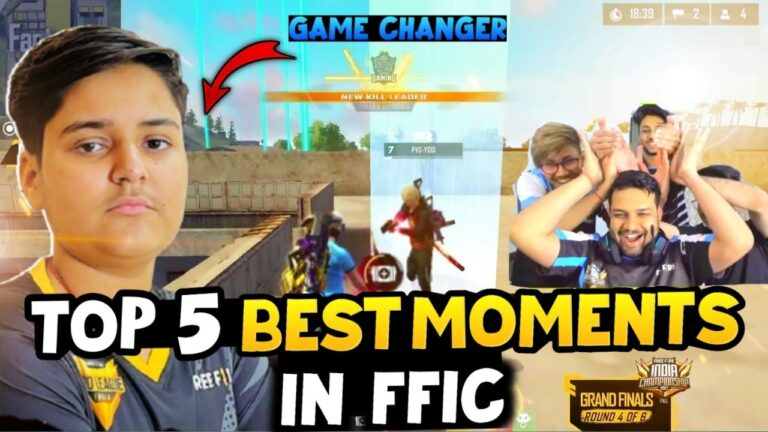 TOP 5 BEST MOMENTS IN FFIC 2021    KILLER GAME CHANGER ?
